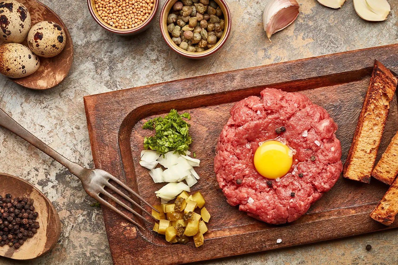 fotografo food blogger tartare per produttori alimentari grande distribuzione prodotti surgelati macellerie ingrosso milano padova bologna