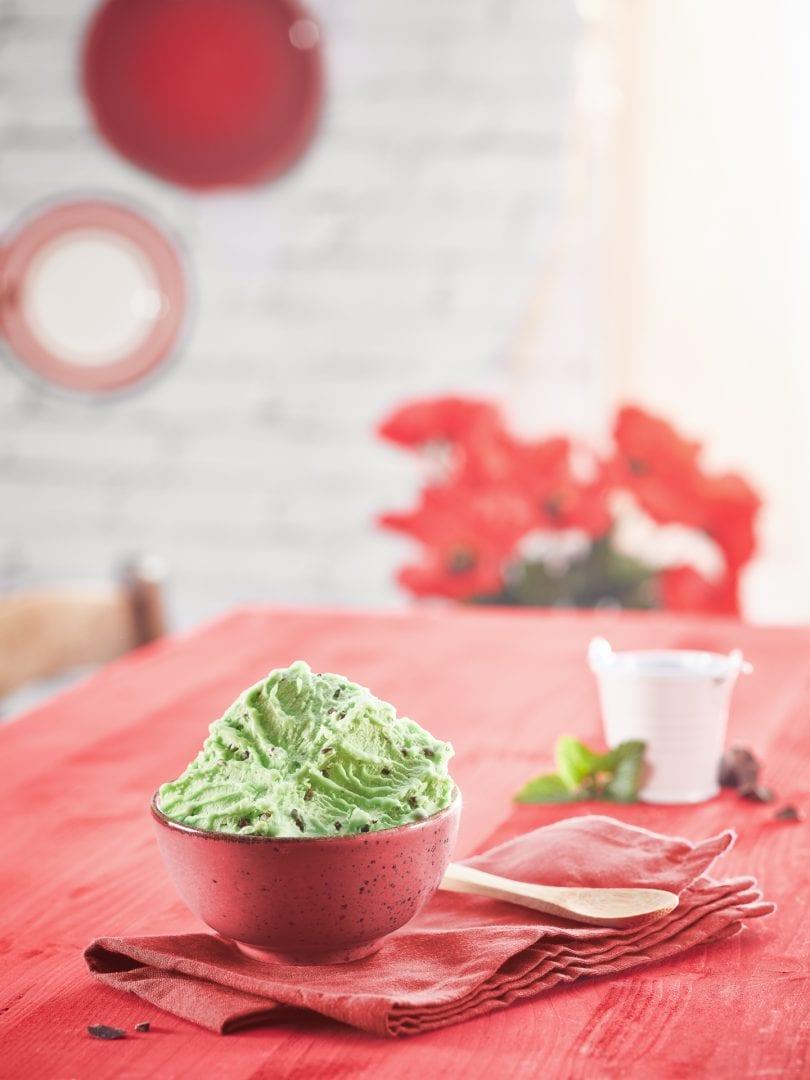 mockup gelato finto fotografo food cucina delle foto milano padova verona menta stracciatella