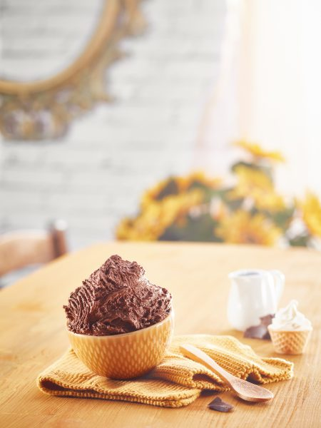 mockup gelato finto fotografo food cucina delle foto milano padova verona panna cioccolato