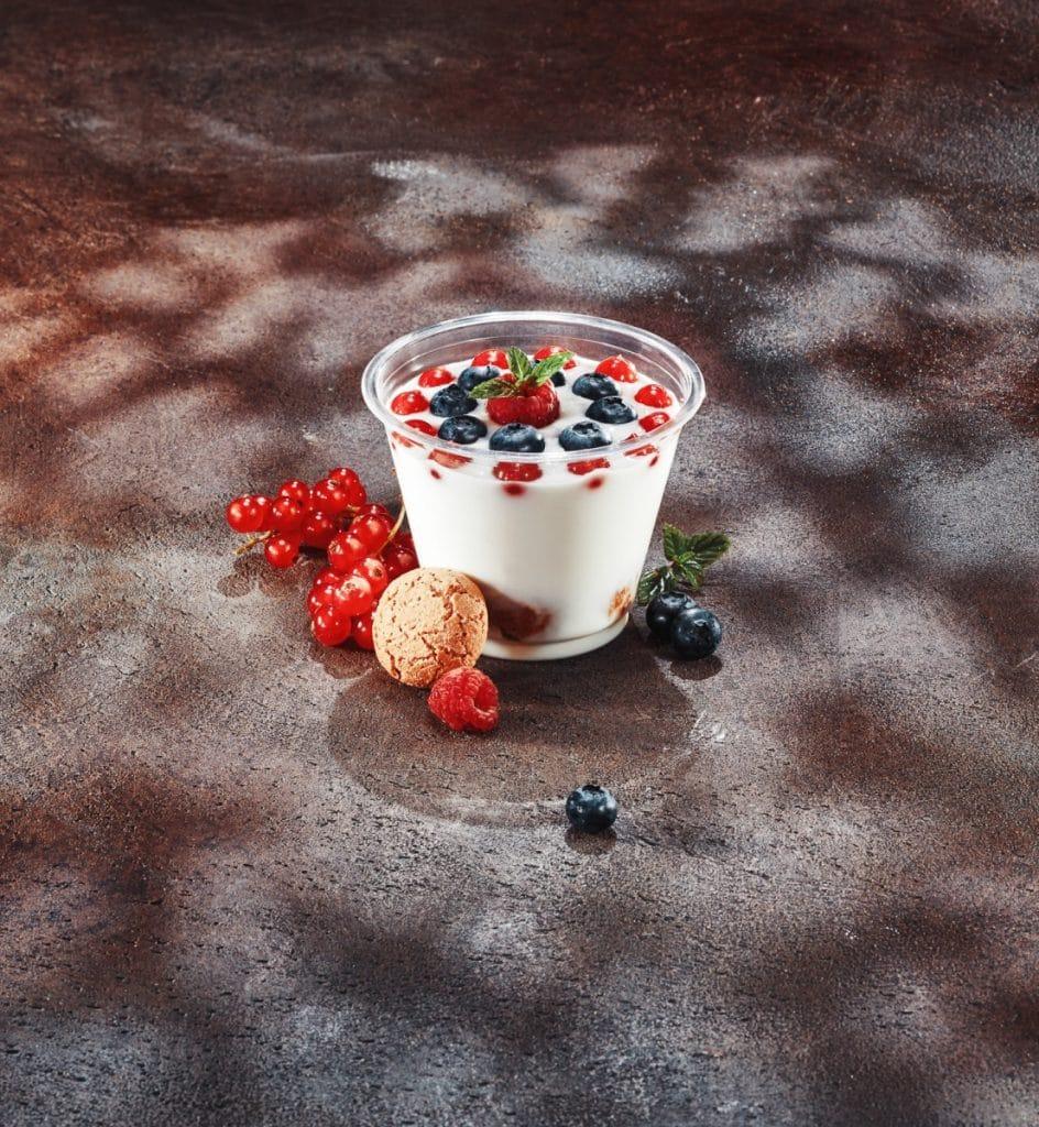 fotografo fast food luce fresnel gobo milano verona udine yogurt