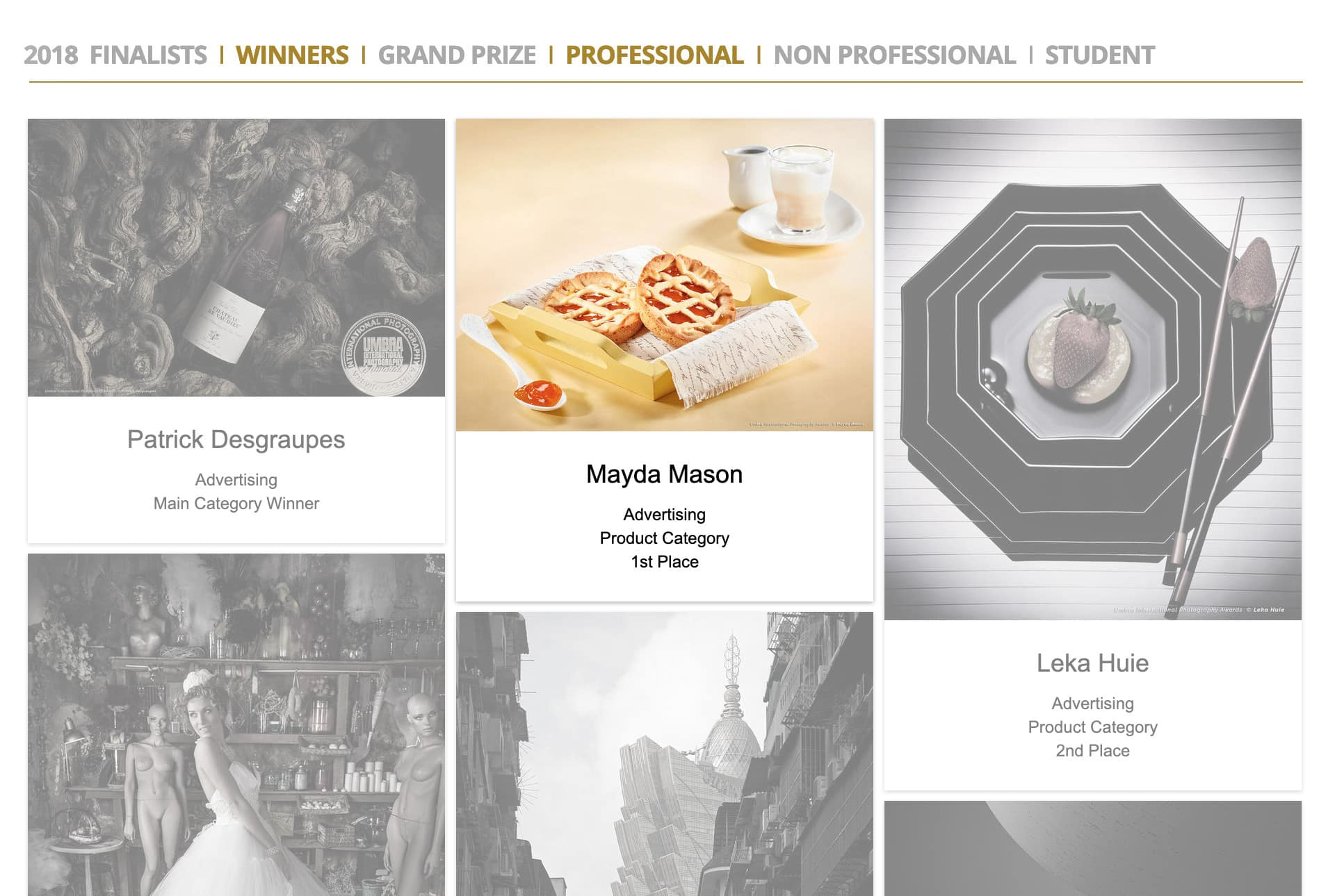 product photography award winning photographer mayda mason